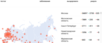 Коронавирус на 25 апреля статистика в России