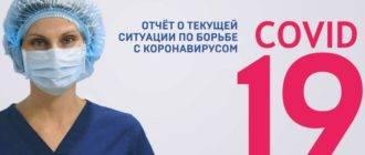 Коронавирус в Ленинградской области на 21 сентября 2020 года